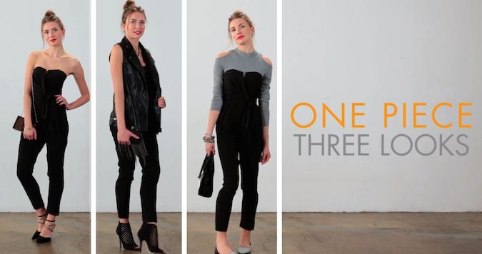 3 Effortlessly Chic Ways To Wear A Black Jumpsuit