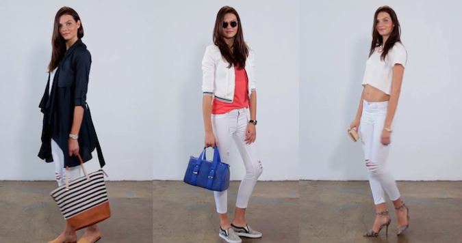3 Ways White Denim Pants That Will Transform Your Look