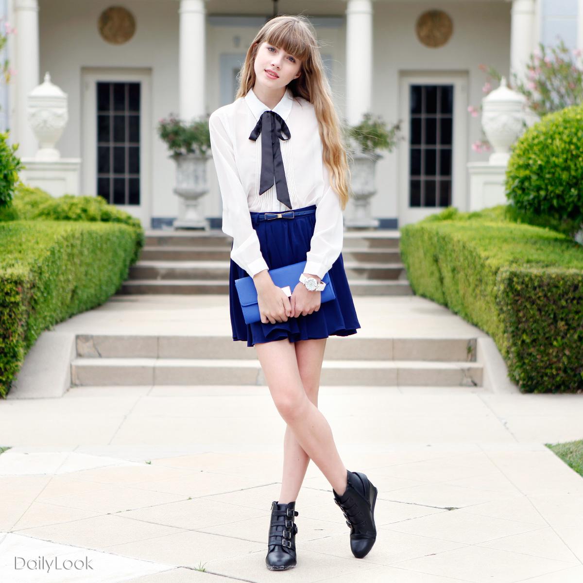 Schoolgirl Street Chic Dailylook