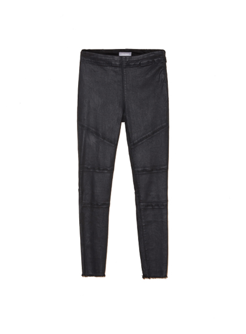 Wax-coated Jeans