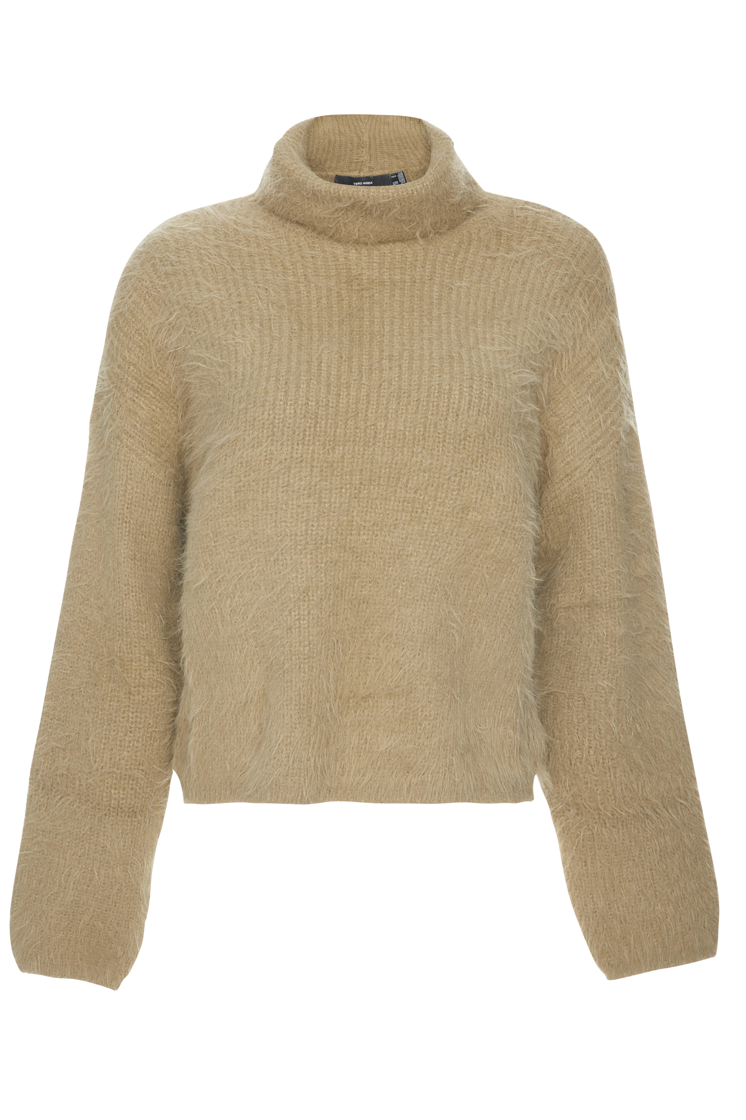 Vero Moda Eyelash Knit Roll Neck Sweater