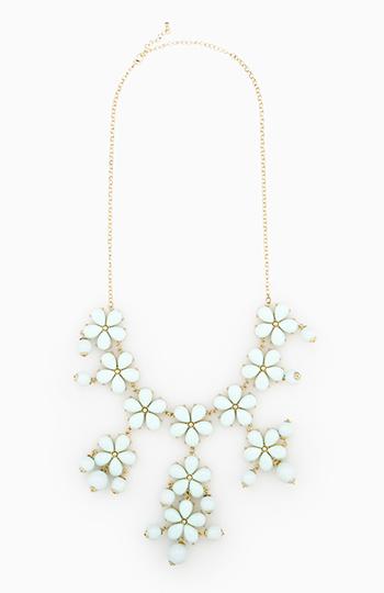 Flower Drop Necklace Slide 1