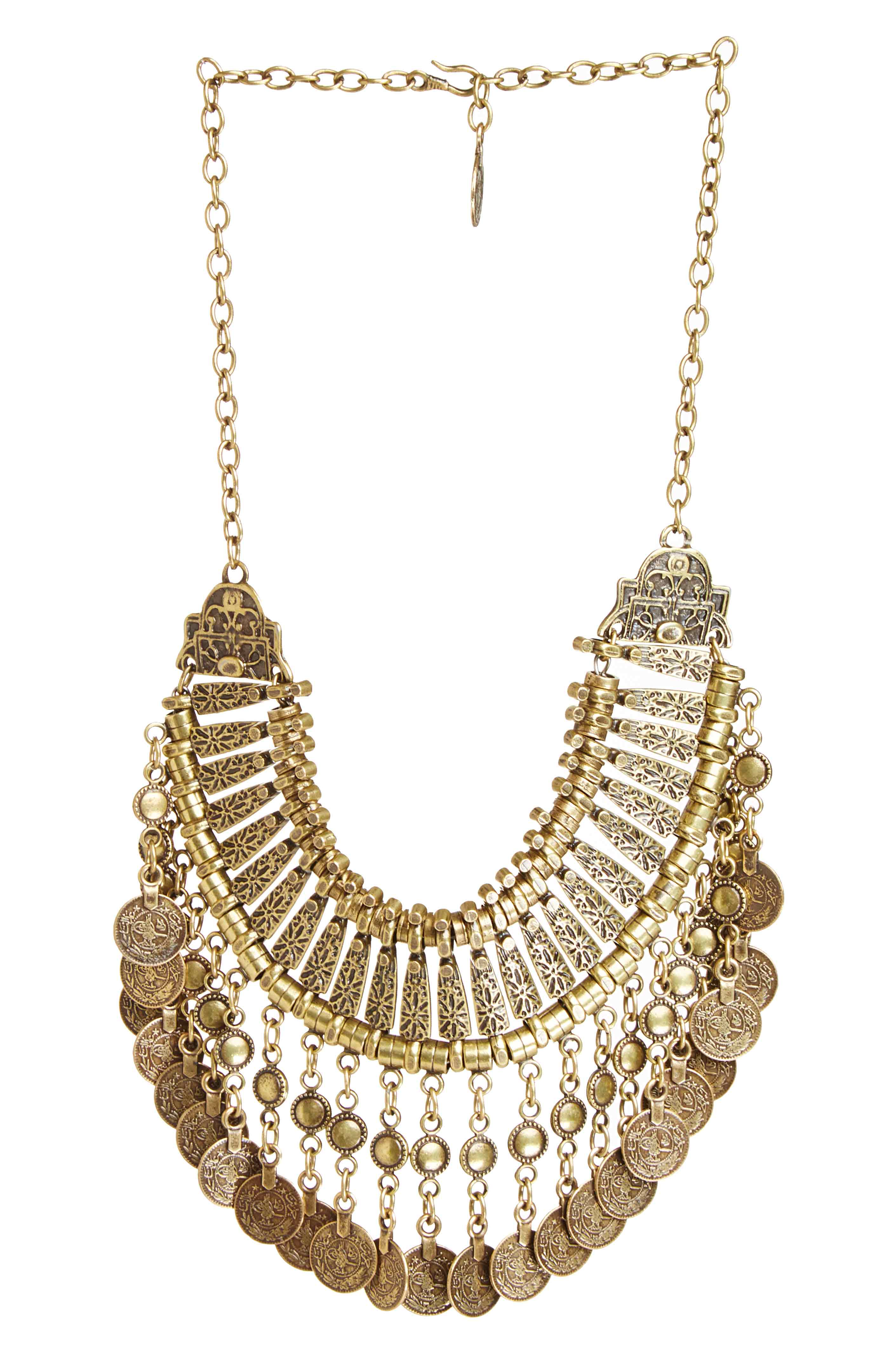 Natalie B Fit For a Queen Necklace in Gold