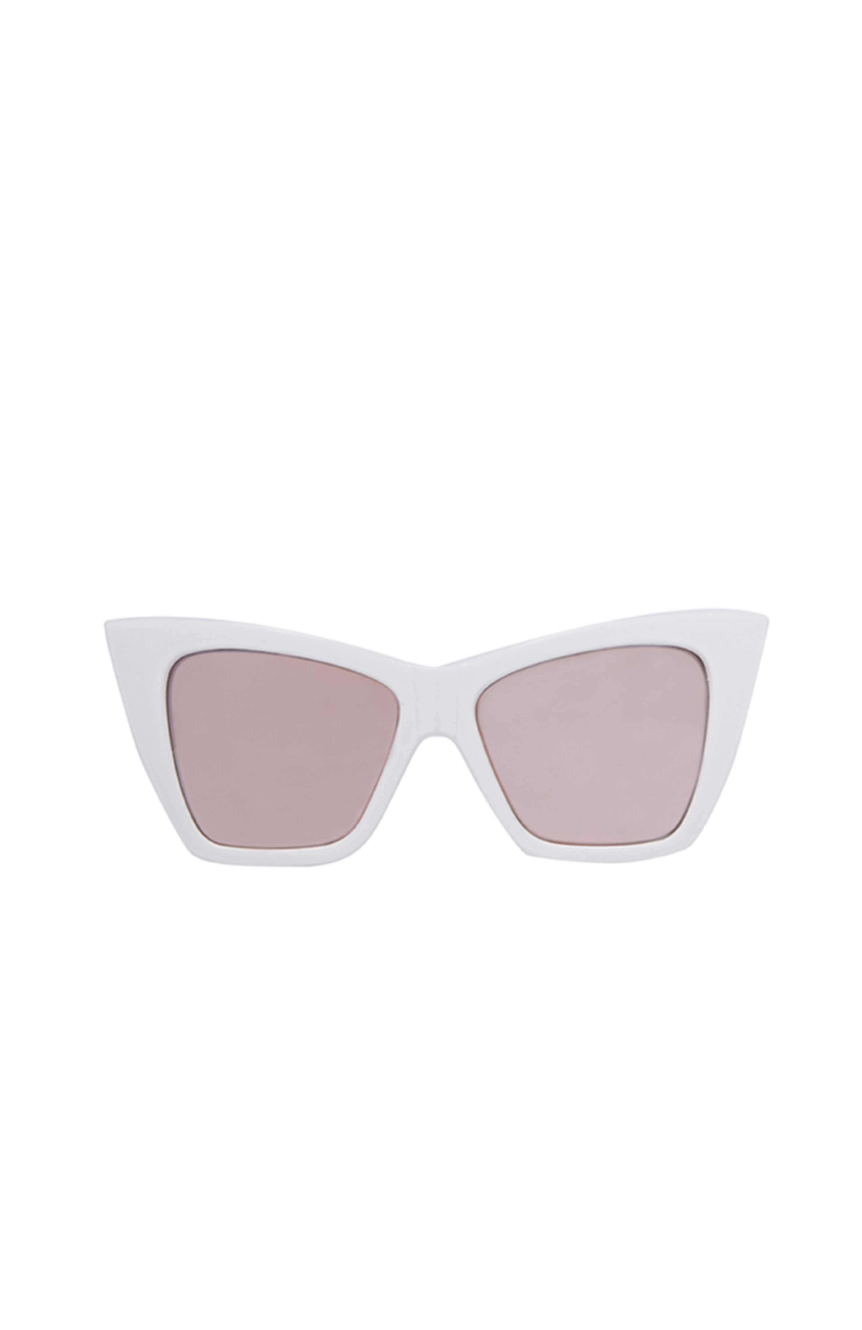 88fc9d08b5 Quay X Shay Mitchell Vesper Sunglasses in White