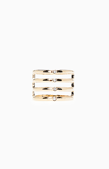 Stacked Cuff Ring Slide 1