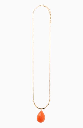 Stone Pendant Necklace Slide 1