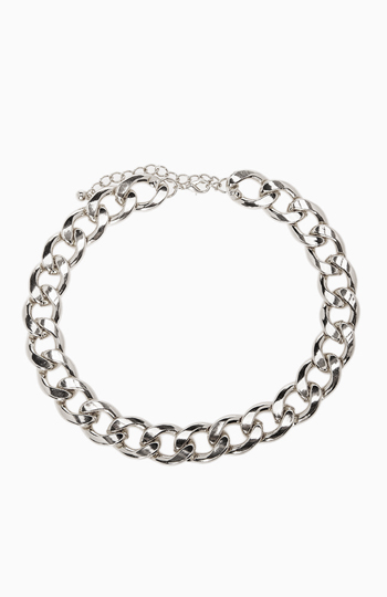 DAILYLOOK Polished Chain Link Necklace Slide 1