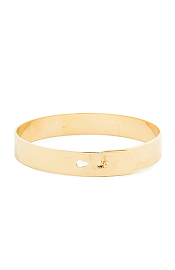 DAILYLOOK Flat Bangle Bracelet Slide 1