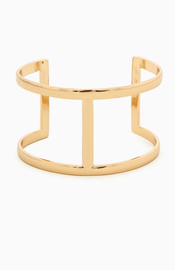 DAILYLOOK Double Band Cuff Bracelet Slide 1