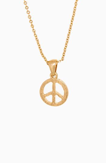 Peace Pendant Necklace Slide 1