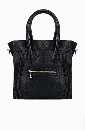 On The Go Structured Handbag Slide 1