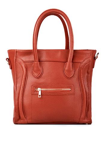 On The Go Structured Handbag Slide 1