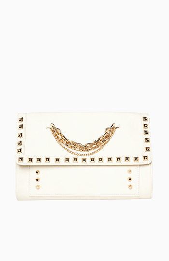 Studded Chain Link Clutch Slide 1