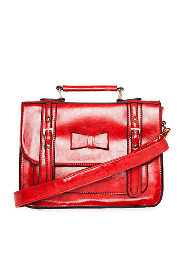 Ladylike Bow Satchel Slide 1
