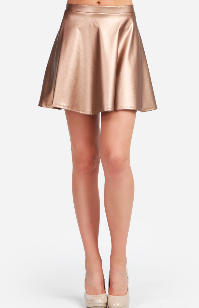 Women Faux Leather Full Circle Skater Skirt $ 15 99 Prime. 4 out of 5 stars SJWIN. Women's Sexy Shiny Wet Look Faux Leather Bodycon Knee-Length Metallic Pencil Skirts. from $ 10 99 Prime. out of 5 stars Argstar. Women's Faux Suede Button Closure A-Line Mini Short Skirt. from $ 16 08 Prime.
