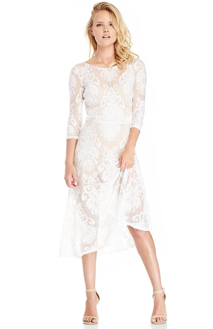 f3feacf7d48 For Love   Lemons San Marcos Maxi Dress in White