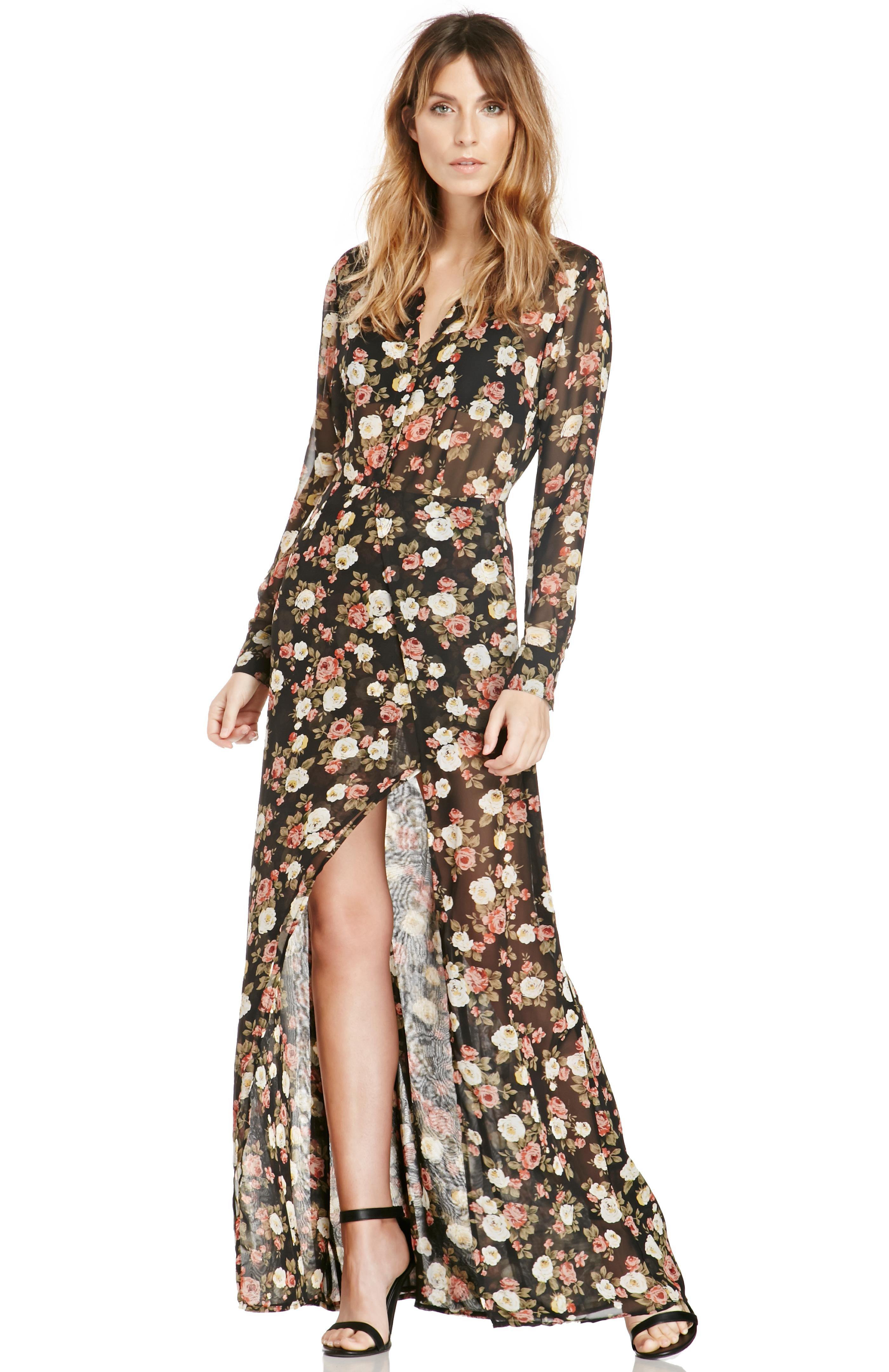 Cheap multicolor dress