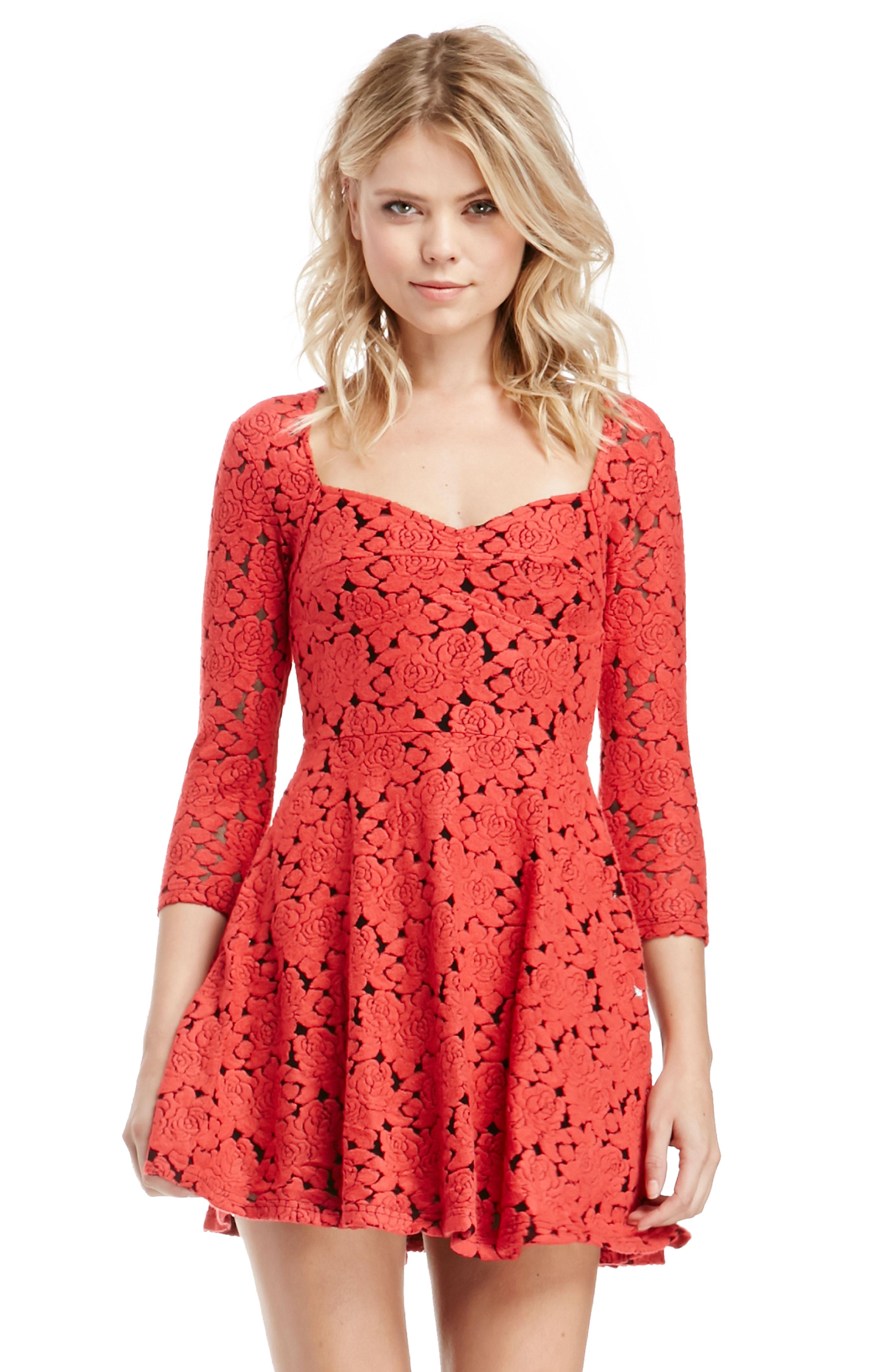 Minkpink Little Red Dress In Red Dailylook
