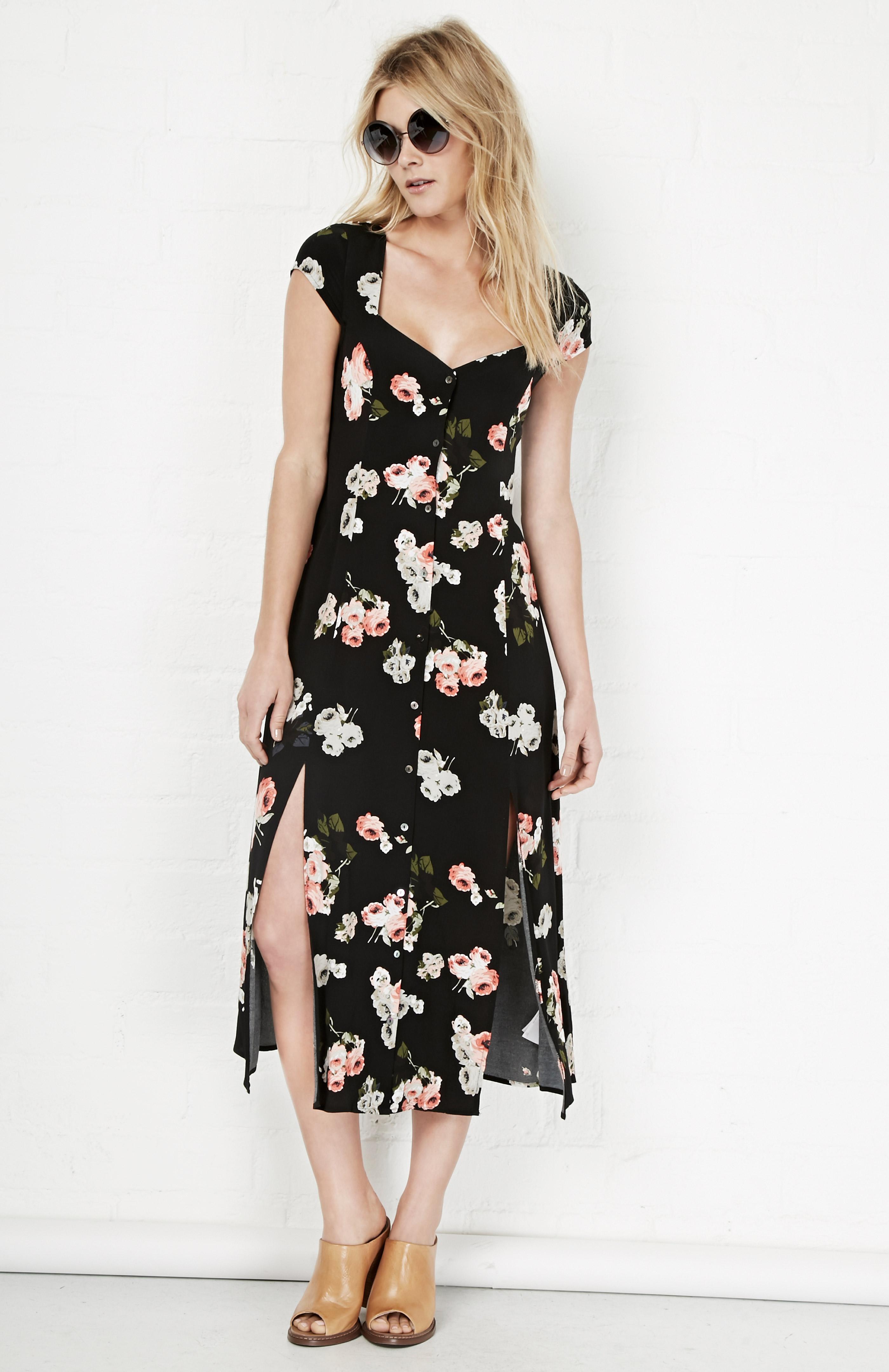 37eeda6baf MINKPINK Moon Flower Midi Dress