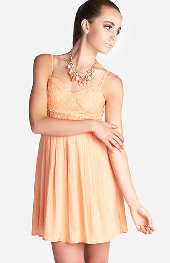 Floral Sun Dress Slide 1