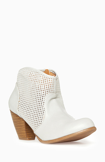 Perforated Ankle Boots Slide 1
