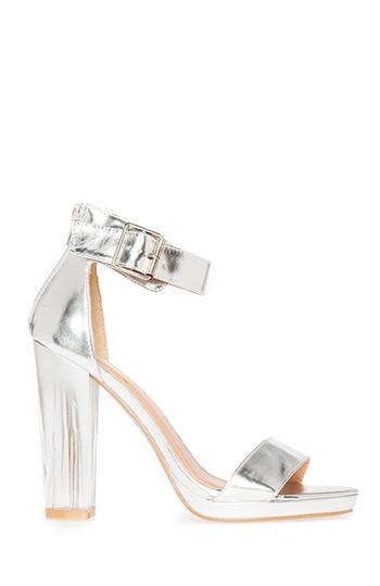 Modern Sandal Heels Slide 1