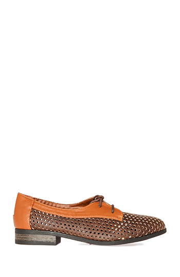 Perforated Two Tone Oxfords Slide 1