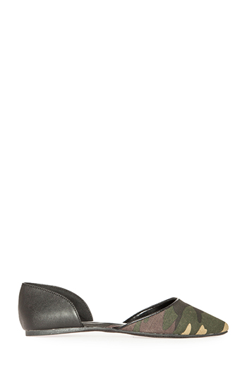 Pointed Toe Flats Slide 1