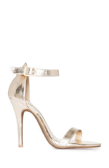 DAILYLOOK Simple Strap Heels Slide 1