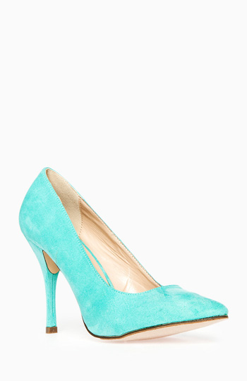 Vibrant Pointed Toe Pumps Slide 1