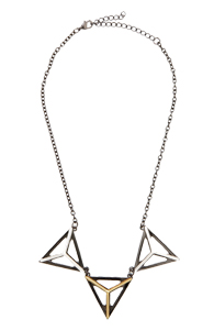 Star Track Necklace