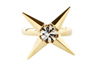 Four Point Star Ring