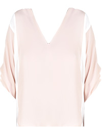 Sheer Dolman Sleeve Top