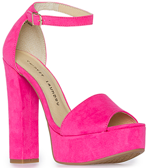 Chinese Laundry Avenue Suede Platform Sandal