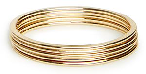 DAILYLOOK Everyday Bangle Bracelet Set