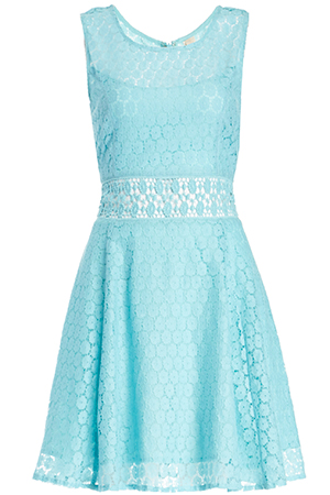 RAGA x Lace Fit and Flare Dress