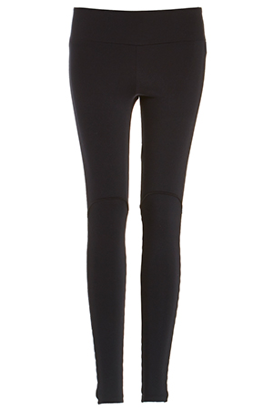 SOLOW Legging with Side Pleats