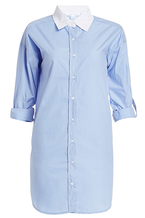 Carrie Bradshaw Cotton Shirt Dress