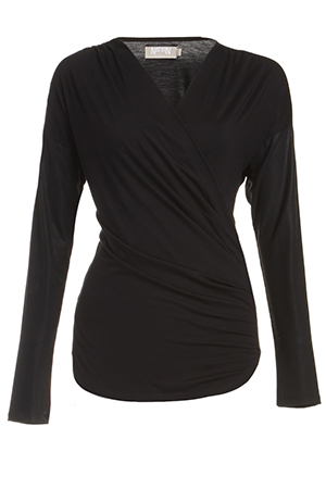 Nation Ltd Stretch Knit Montreal Top