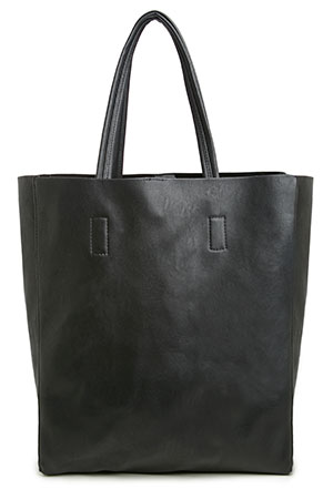 LC Vegan Leather Tote