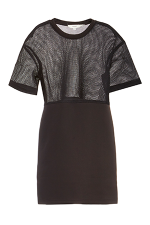Cameo Acoustic Mesh Tunic Dress