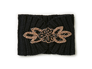 Fiona Jeweled Knit Headband