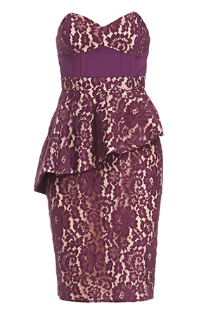 STYLESTALKER Lotus Lace Dress