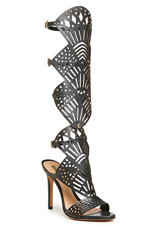Schutz Leather Brasiliana Gladiator Sandals