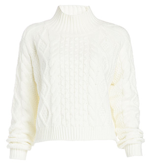 MINKPINK Chalet Girl Cable Knit Sweater