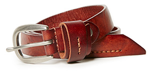 Bradley Leather Tie Knot Belt