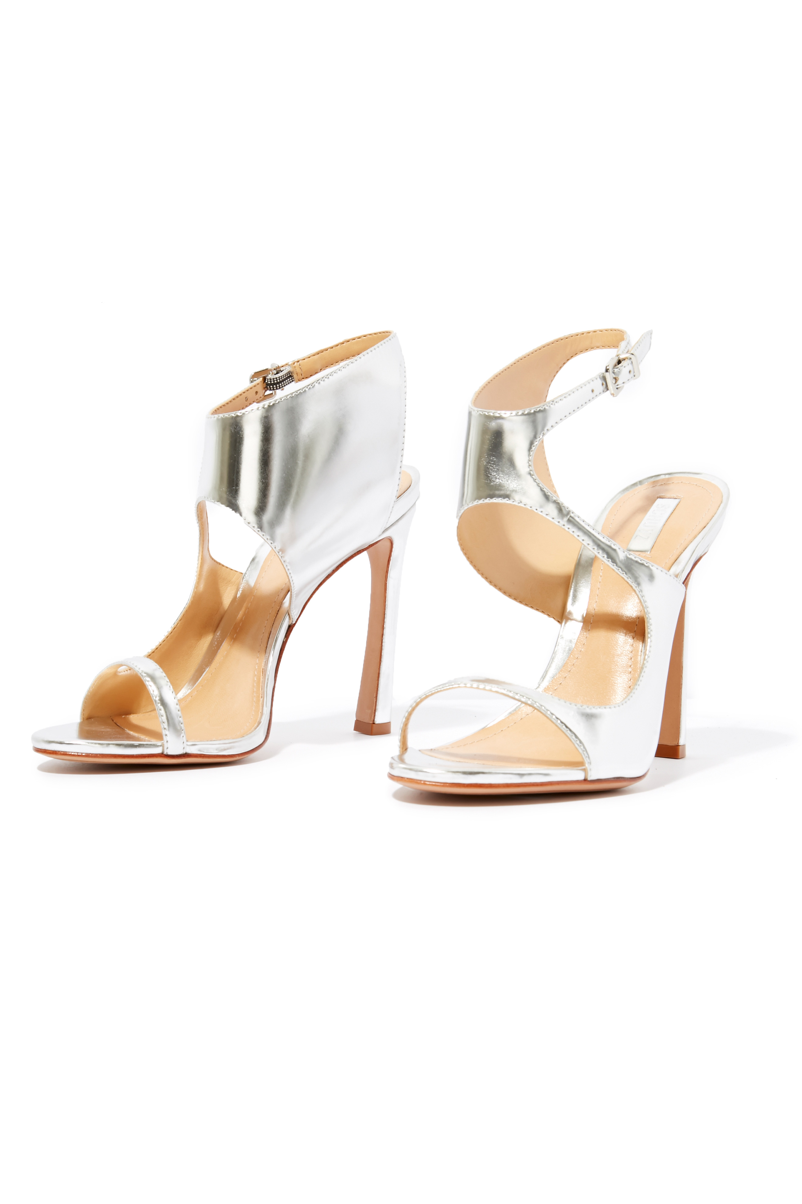 Schutz Sleek Wrap Heels