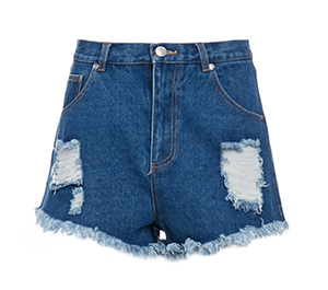 The Fifth Label Go Outside Denim Shorts