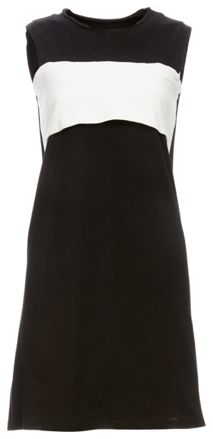 Stan Colorblock and Cutout Knit Dress