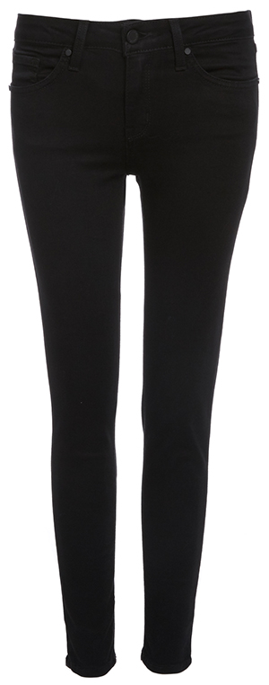 Just Black Karly Mid Rise Cropped Skinny Jeans